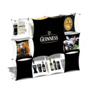ONEshot Stretch Fabric Displays